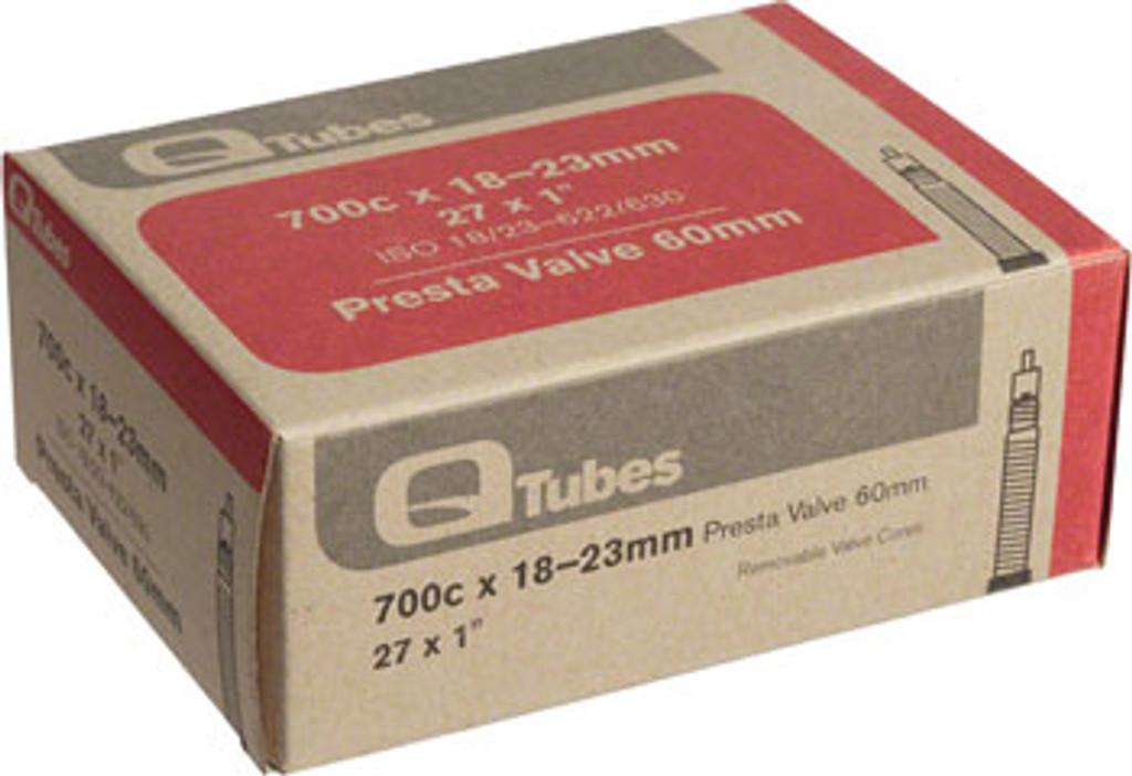 Q-Tubes 700c x 18-23mm 60mm Presta Valve Tube
