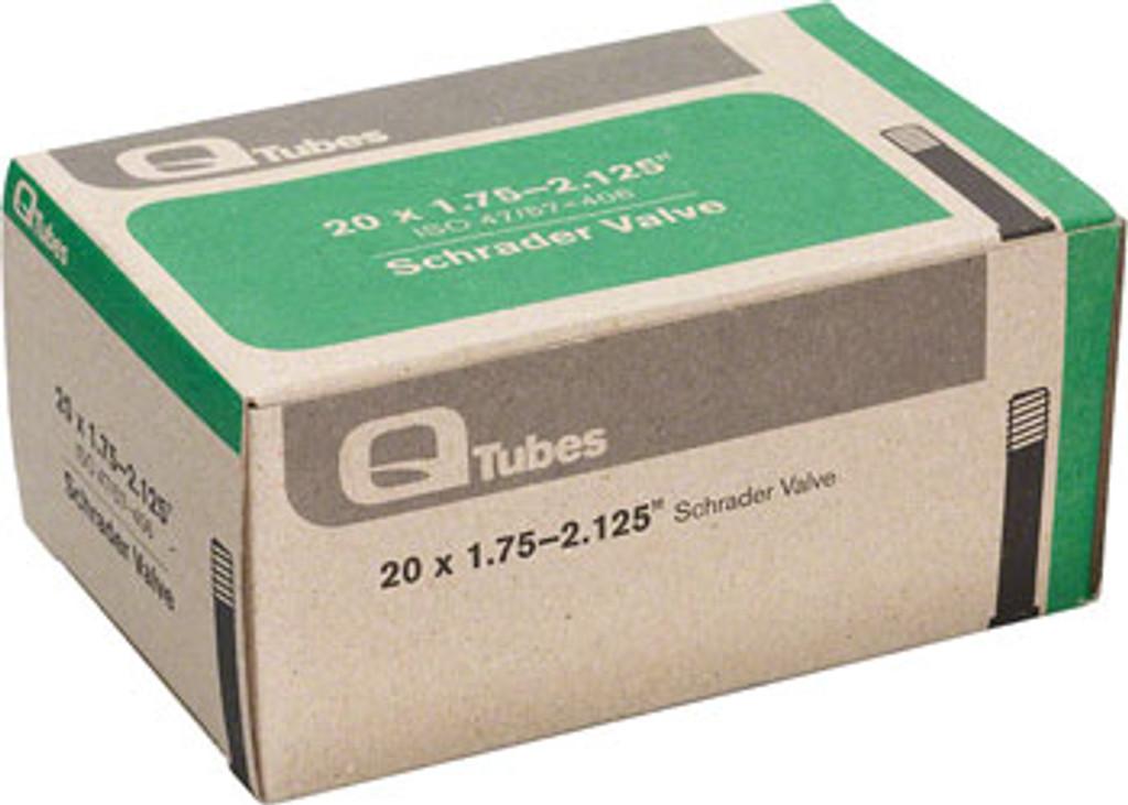"""Q-Tubes 20"""" x 1.75-2.125"""" Schrader Valve Tube"""