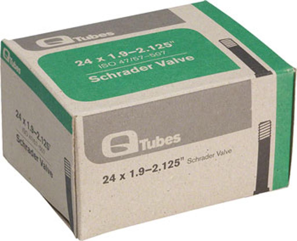 """Q-Tubes 24""""x 1.9-2.125"""" Schrader Valve Tube"""