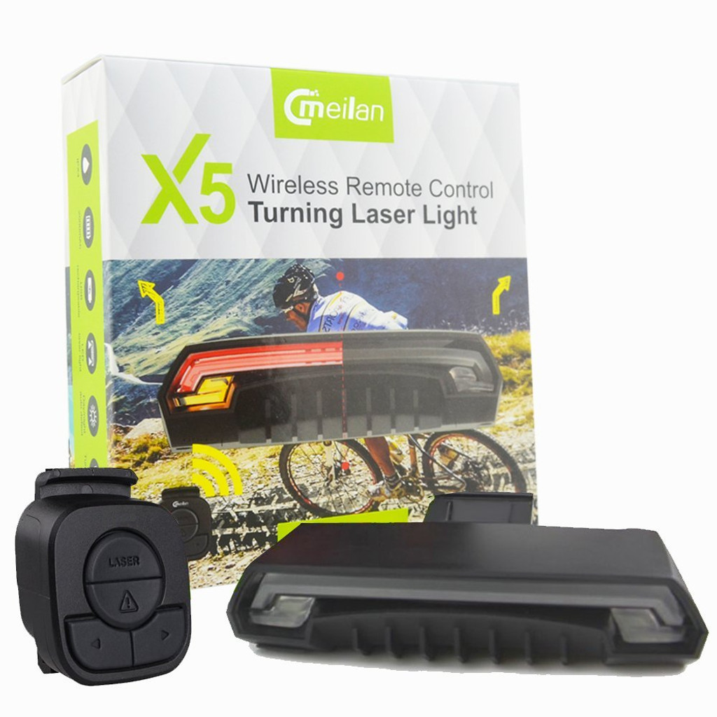 2d01039c681 X5 Rear Light With Laser - Luna Cycle