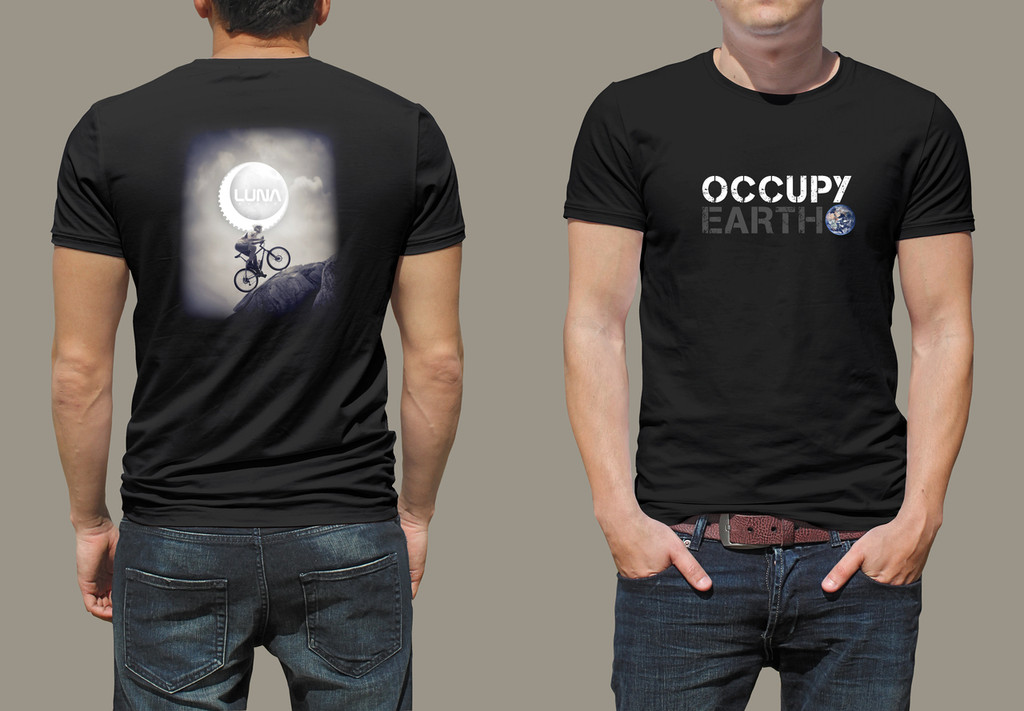 Luna Cycle Occupy Earth T-shirt