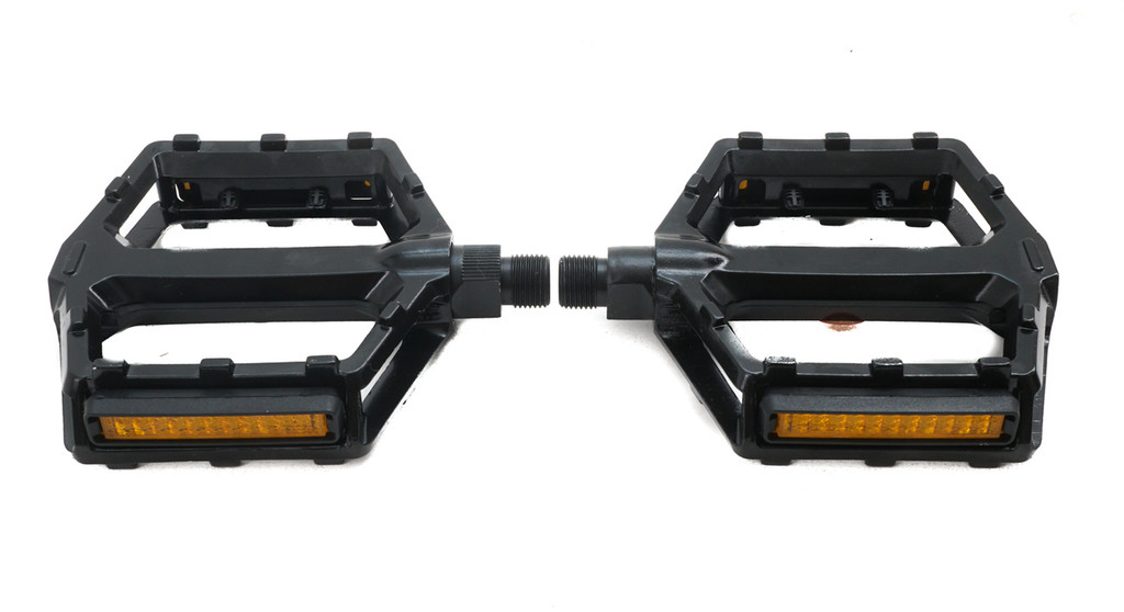 Black Metal Platform Pedals