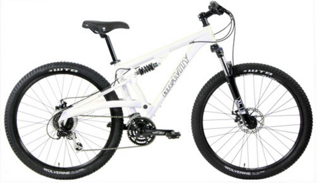 Gravity FX 275 LTD (pedal bike only) size ?