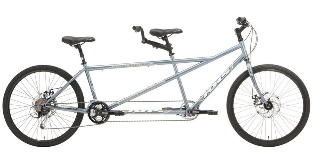 KHS Sport Tandem 27-Speed Bike Silver (only one)