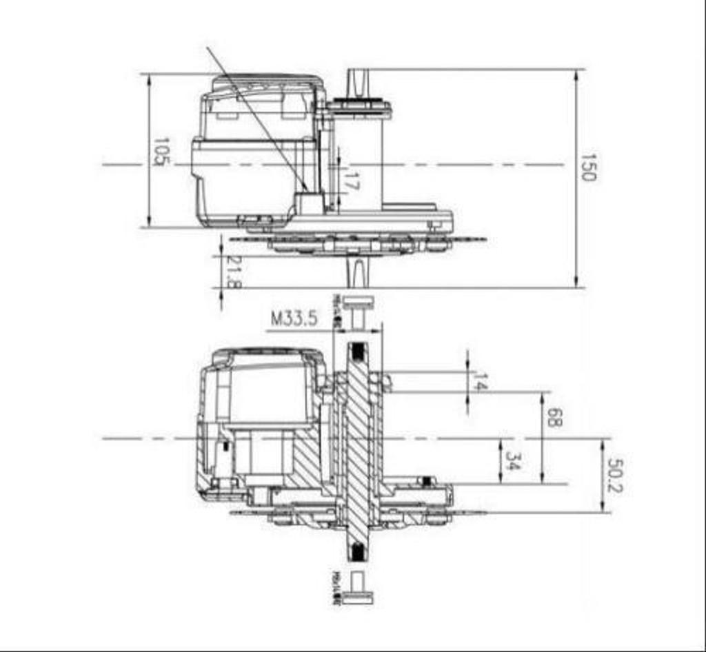 Torque Sensing TSDZ2 750w Mid Drive Kit