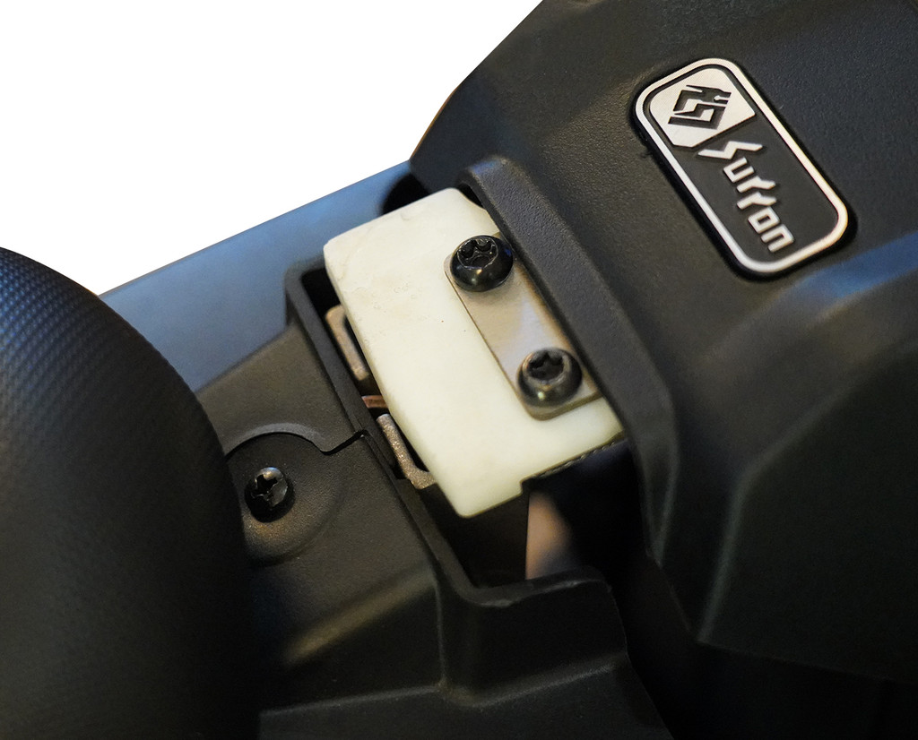 Latch Guard and Battery Spacer for Seat Extender Kit