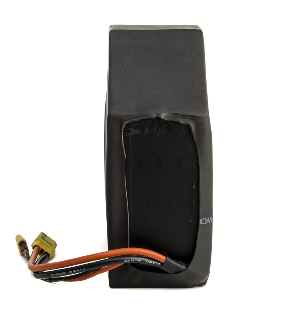 60 Volt Triangle 24ah Panasonic GA Battery Pack Back