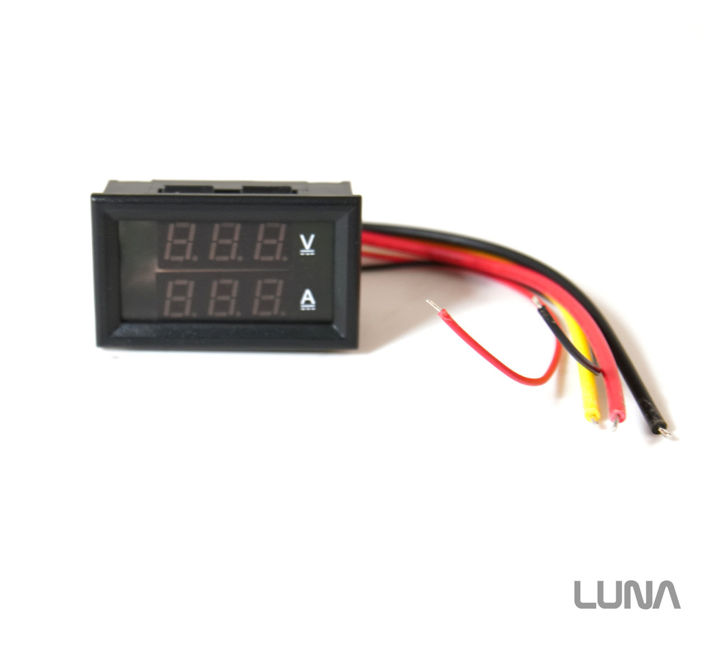 Replacement Display for Luna Charger / Volt Meter