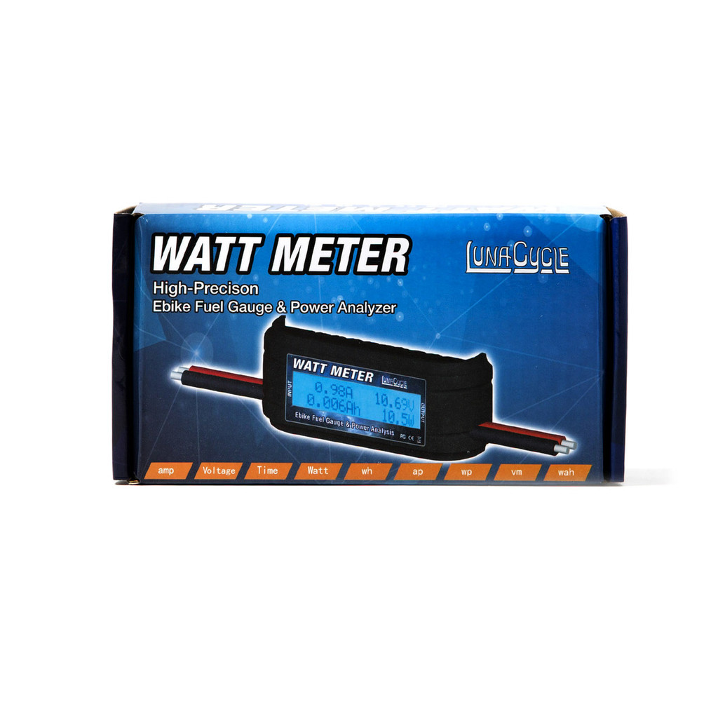 Luna Cycle Watt Meter