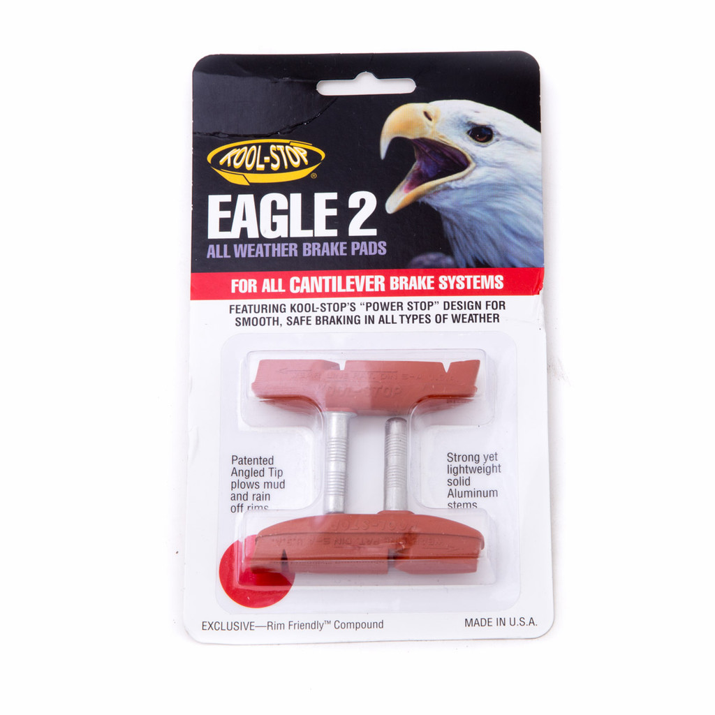 Kool Stop Eagle Claw 2 Cantilever Brake Pads Threaded Post