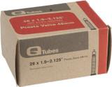 """Q-Tubes 26"""" x 1.9-2.125"""" 48mm Presta Valve Tube"""