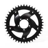 BBSHD Steel/Aluminum Chainring Adapter and 44T Sprocket
