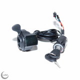 Cyclone  Thumb Throttle with On/Off Switch and Voltage Display
