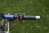 HIgh quality twist throttle and ebike levers included.