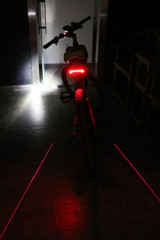 X5 Rear Light With Laser