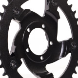 BBSHD Steel/Aluminum Chainring Adapter and Sprocket