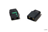 BLACK XT90 Spark Resistant Connector (Male/Female set)