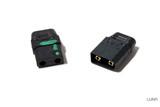 BLACK XT90 Spark Resistant Connector (Male/Female set)
