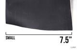 Shrink Wrap Tube Matte Black Rubber Like Ebike Battery Pack (per foot)
