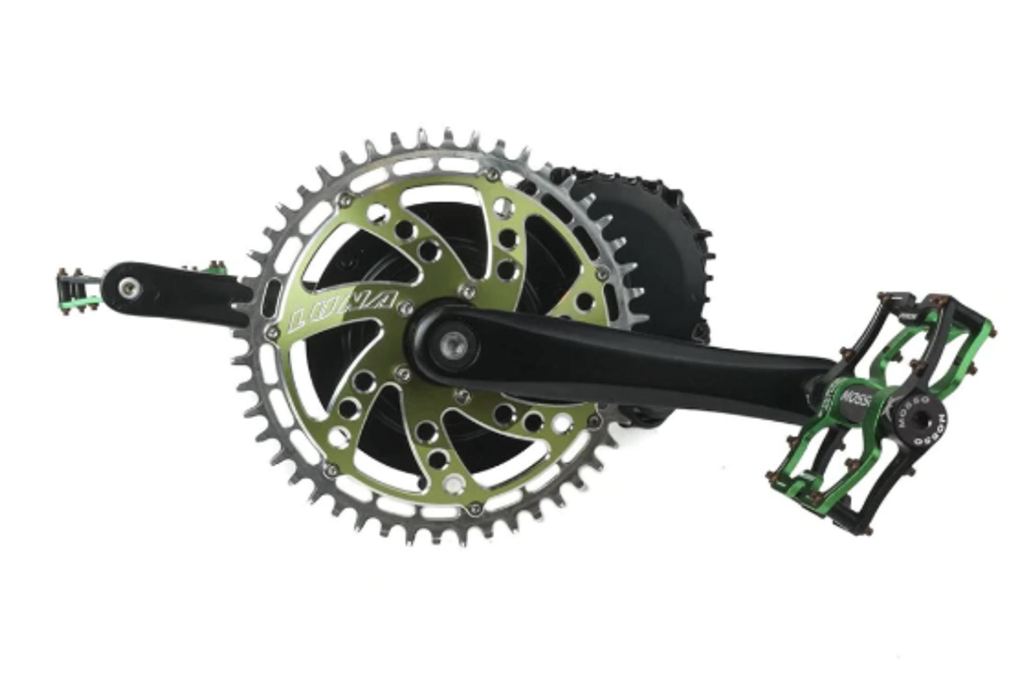 Full Length Twist Left Throttle  BBSHD//01B//02B Bafang Mid Drive Electric Bike