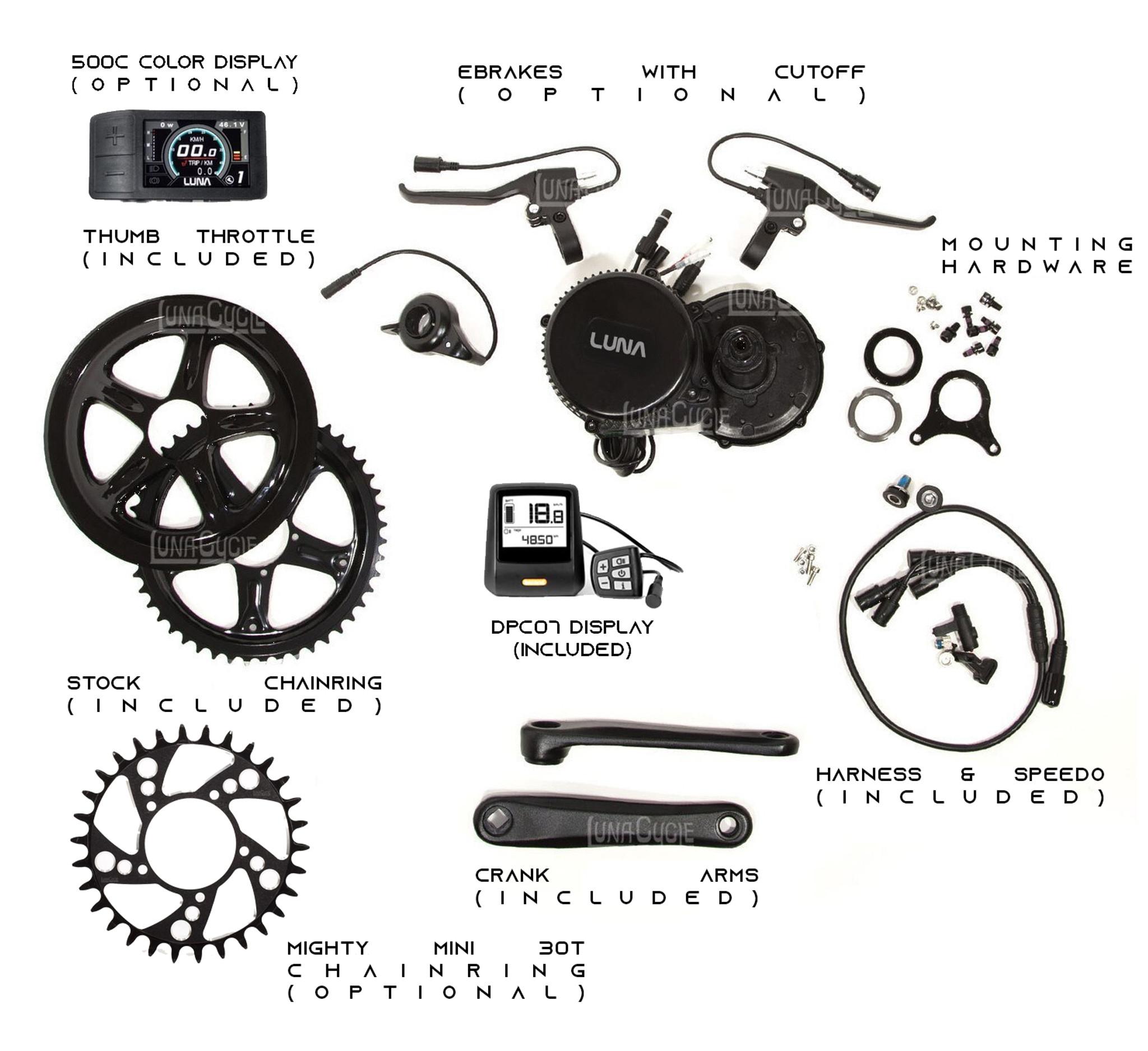 Display Mount Bracket BBSHD//01B//02B Bafang Mid Drive Conversion Kit ebike C961