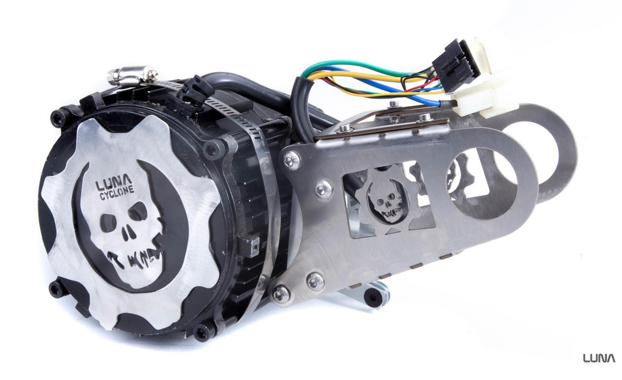 40aca02fb60 Cyclone Mid Drive 3000 watt Planetary Ebike KIT - Luna Cycle
