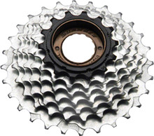 SunRace M2A 7 Speed 14-28T Freewheel Black and Zinc Finish