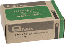 Q-Tubes 700c x 28-32mm Schrader Valve Tube