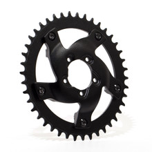 BBSHD Steel/Aluminum Chainring Adapter and 40T Sprocket