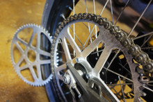 60-Tooth Luna Cycle sprocket installed on Sur-Ron Ebike