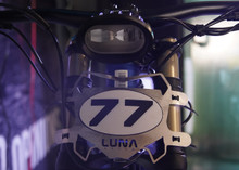 Luna Front Racing Plate for Sur-Ron MX