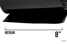 Shrink Wrap Tube Glossy Black Ebike Battery Pack (per foot)