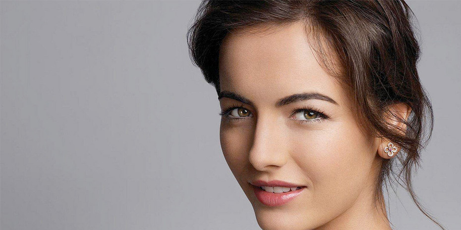 Camilla Belle's Pink Lips Pack a Punch