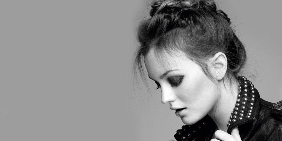 Leighton Meester's Perfectly Contoured Cheeks