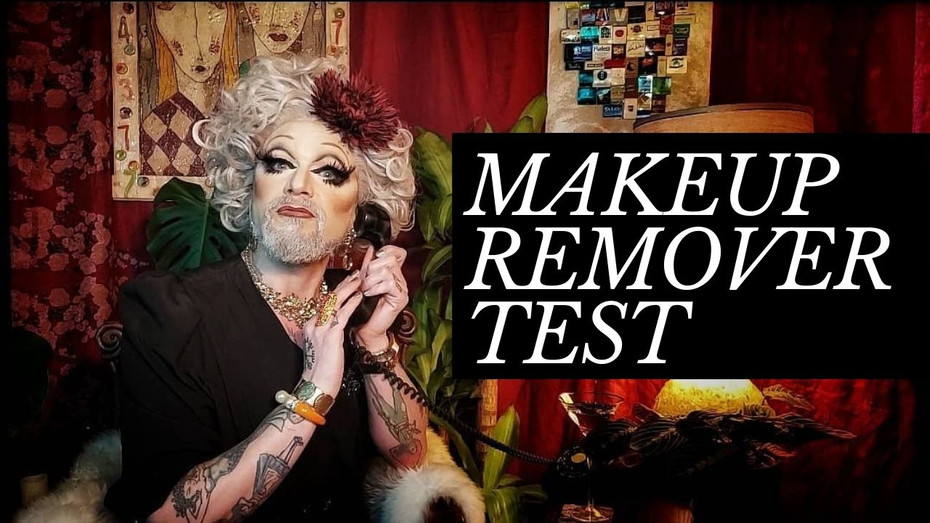 Beetlejuice Makeup Artists Tries out Skindinavia Makeup Remover