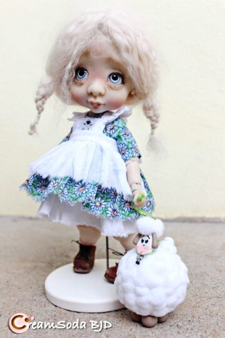 Bo Peep outfit for Ethel yosd BJD by CreamSoda