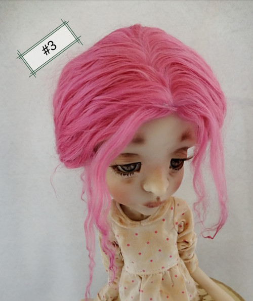 Wig for Amelia or Ethel 8-9 one of a kind style #3