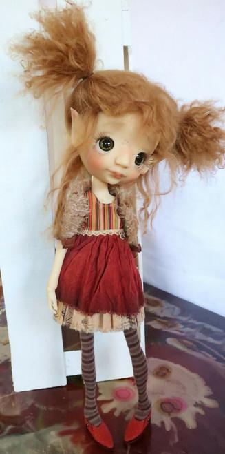 Mystery OOAK big eyed Lizzy Elf fullset Artists choice