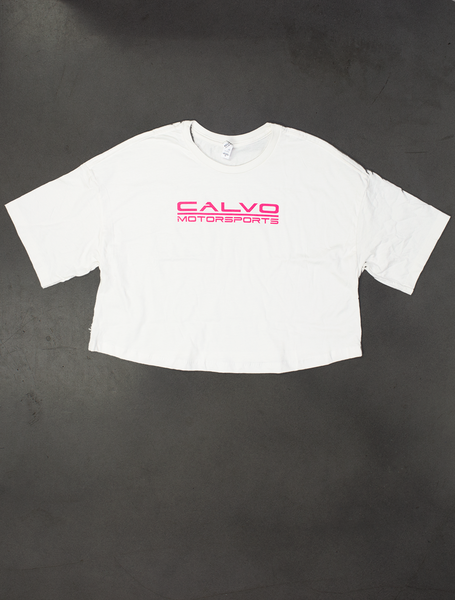 Calvo Motorsports Womens Crop Top