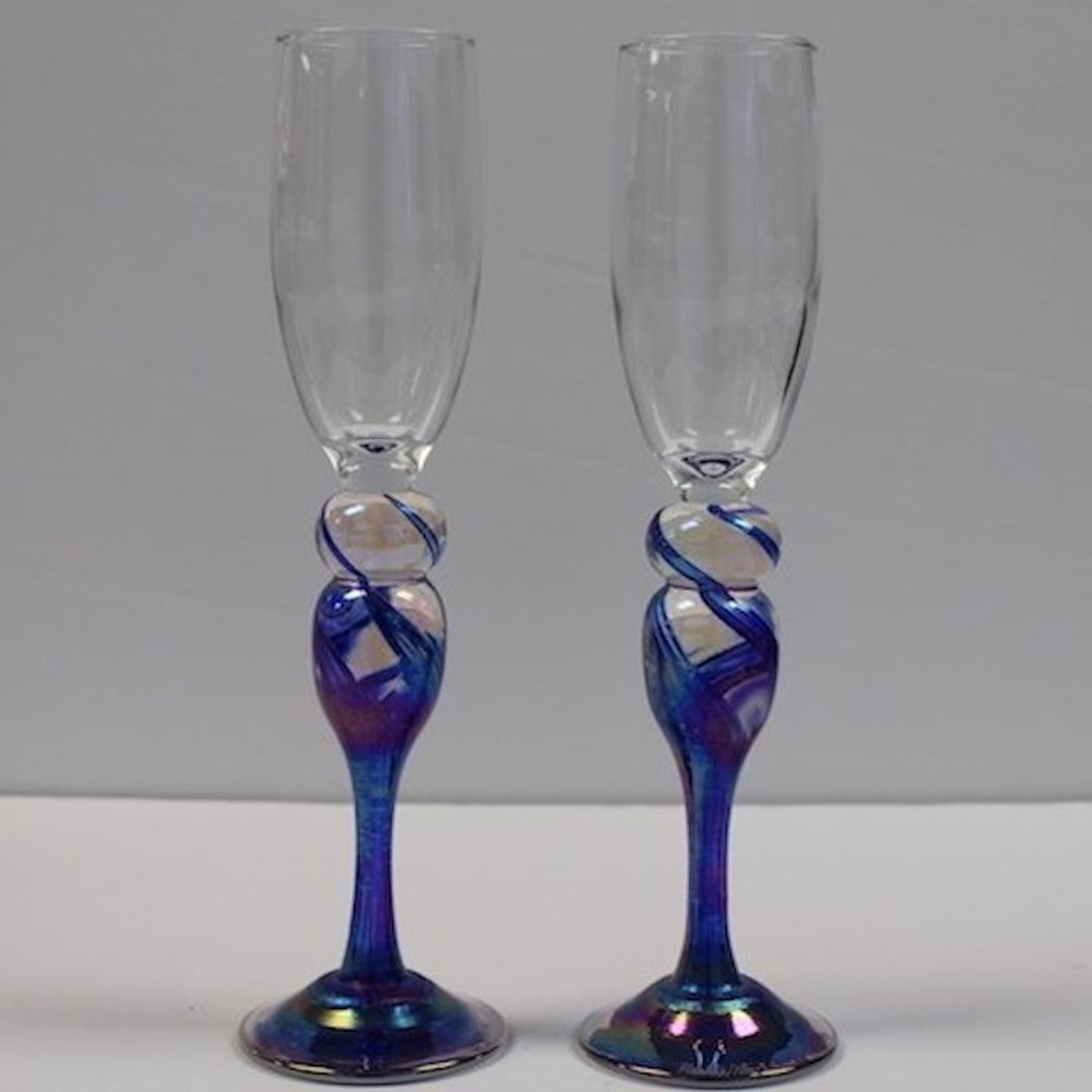 Champagne Glasses Set of 2