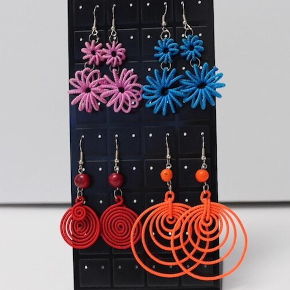 Handmade Inca One color Earrings from Peru
