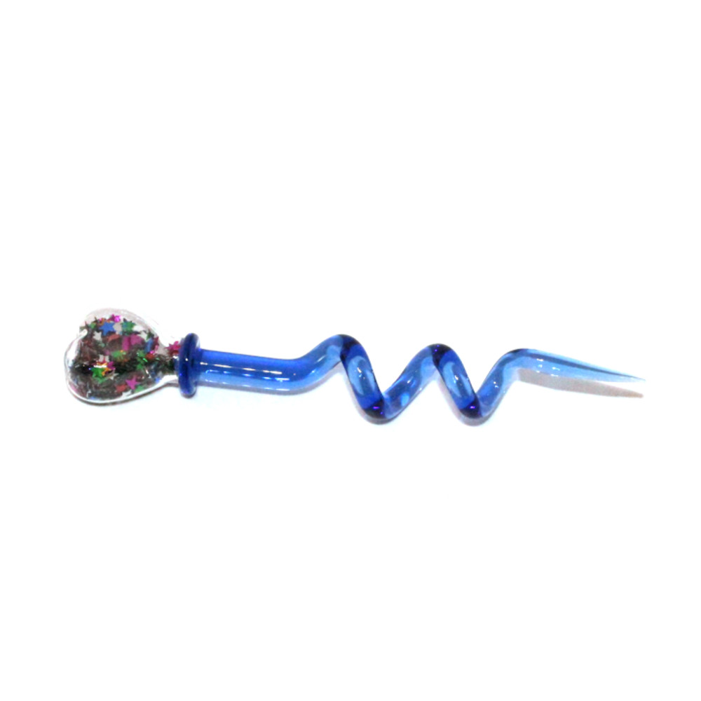 """Glitter Heart Dab Tool - 5.5"""" / Assorted Colors"""