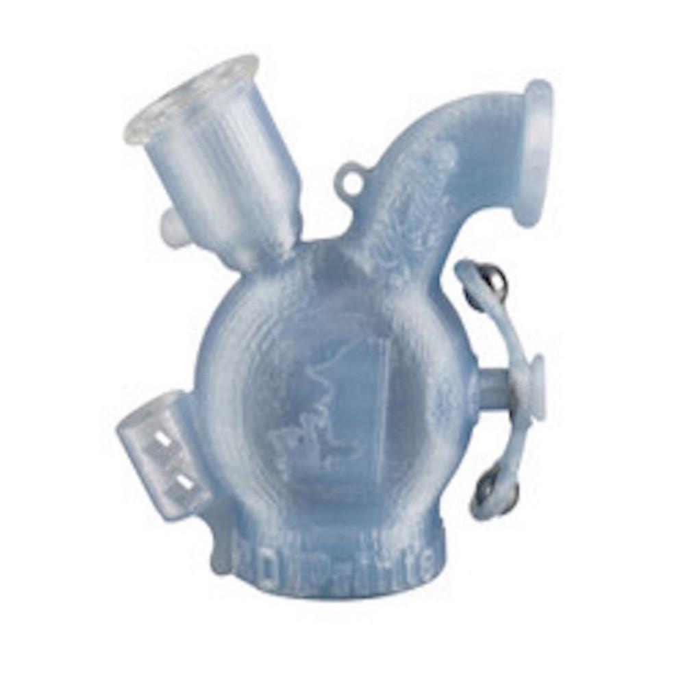 "Headdies 3D - Printed Dubbler Pendant Pipe - 4.5"" / Herb"