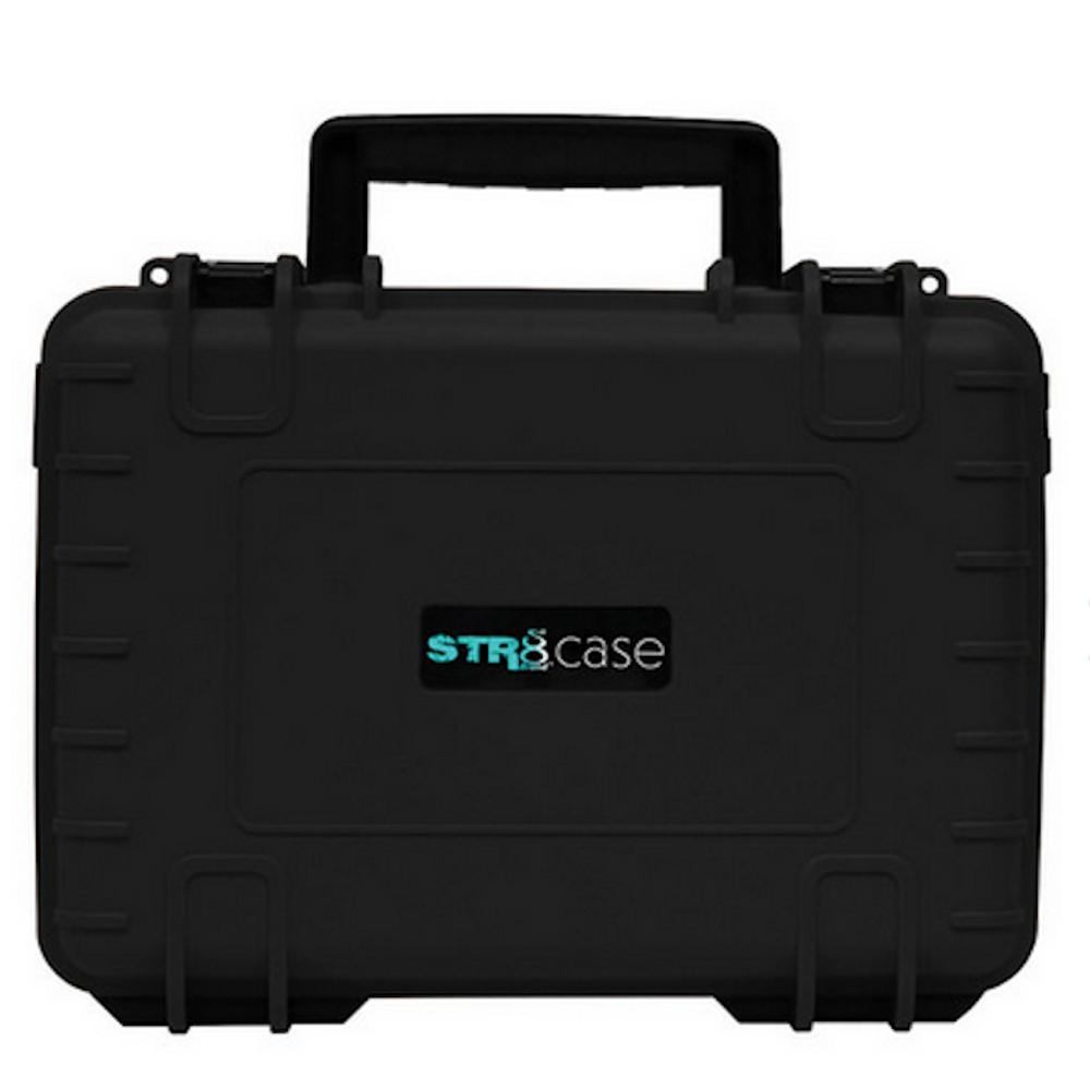 "STR8 Case w/ 2 Layer Foam - 10.6"" x 8.5"" Black"