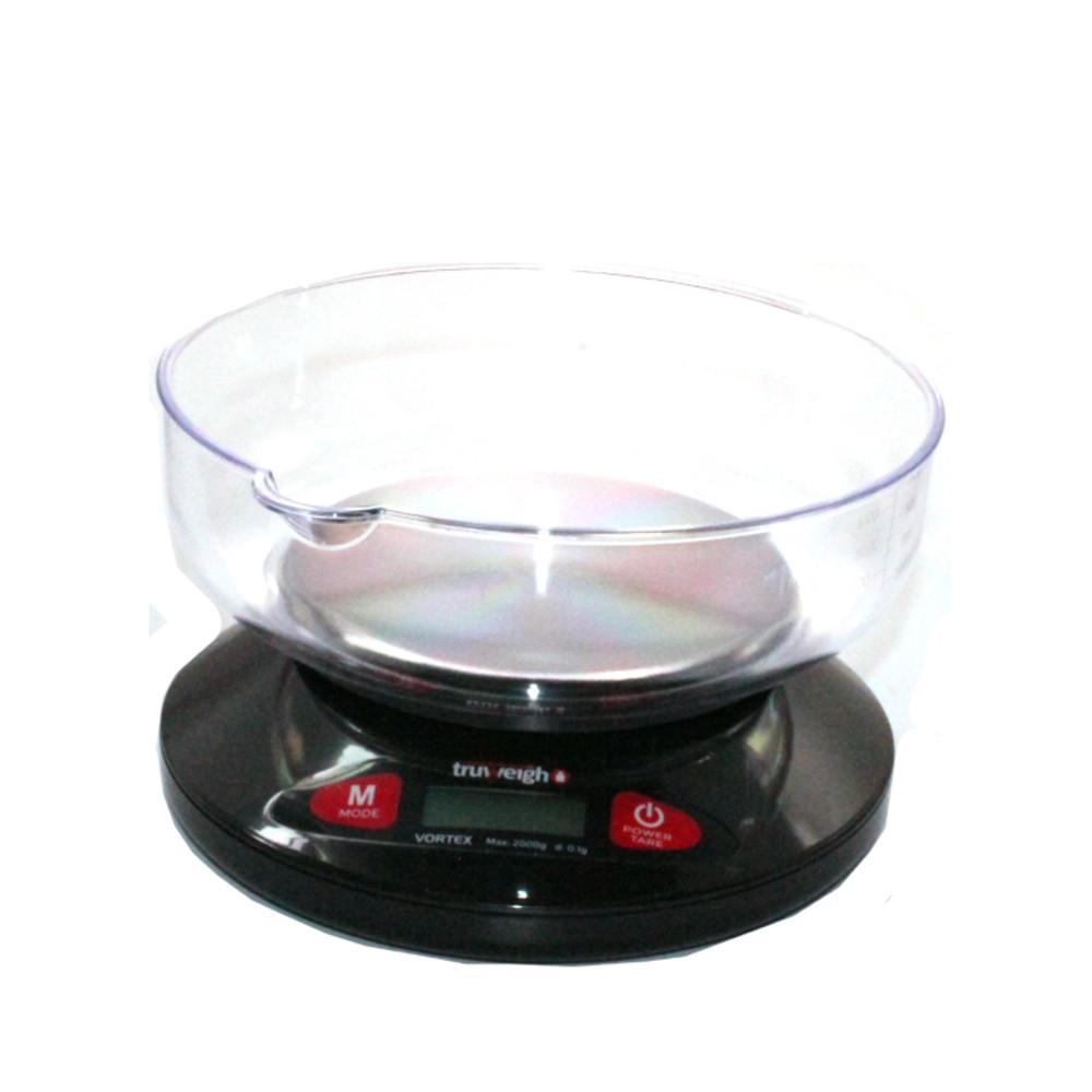Truweight Vortex Digital Bowl Scale - 2000 x 0 1g