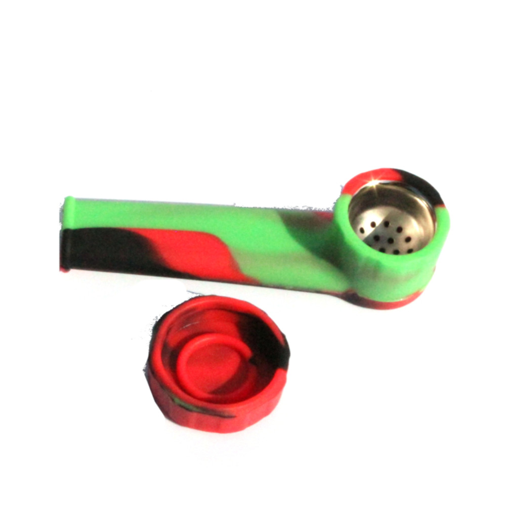 Silicone Pipe with Cover