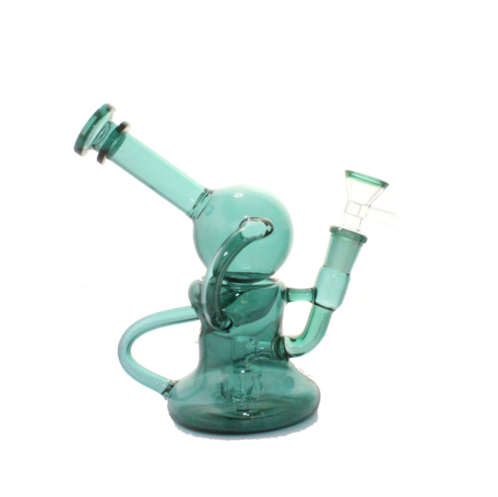 Teal Recycler 9""