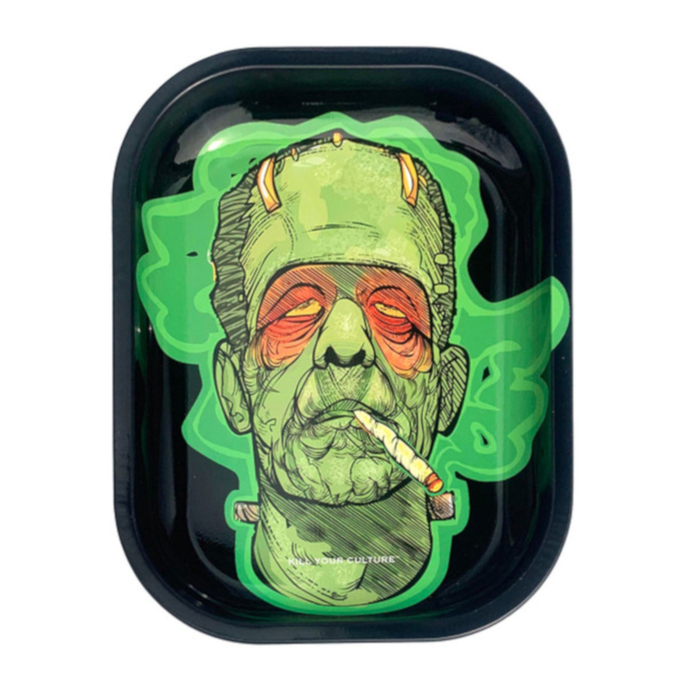 "Frankenstoned - Kill your Culture Rolling Tray - 5.5""x7"""
