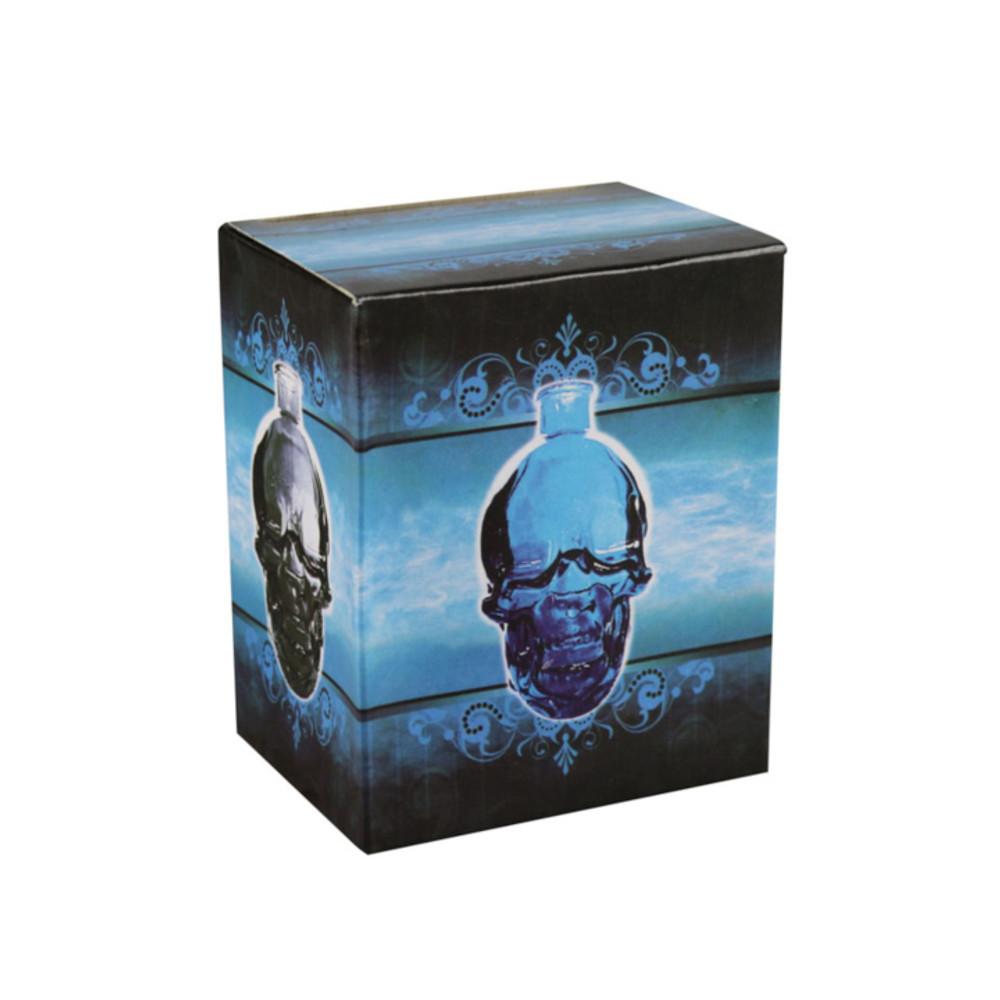 "Glass Skull Water Pipe - 4.5"""