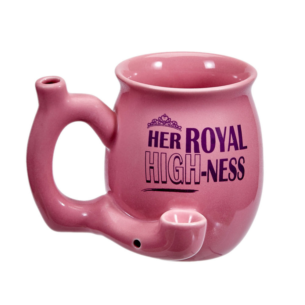 Roast & Toast Her Royal HIGH-Ness Ceramic Pipe Mug